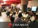 Grupo ADI organizes an event at Casa Milan, gathering more than 80 customers