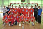 Handbol Rubí, sponsored by Grupo ADI, up in grade