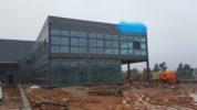 The new facilities are in progress